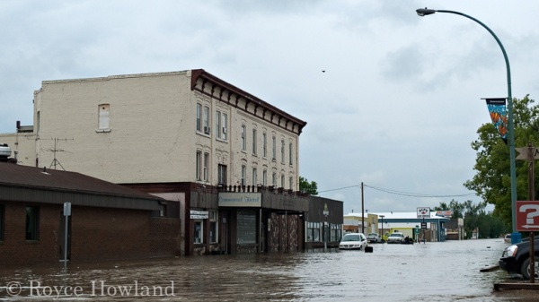 Flooding At the Commercial Hotel, Maple Creek