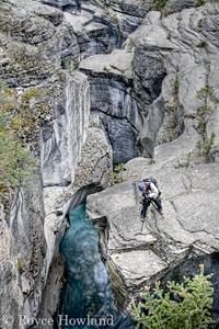 Shooting the Rapids, Mistaya Canyon