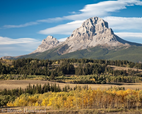 Fall At the Crowsnest, Crowsnest Pass