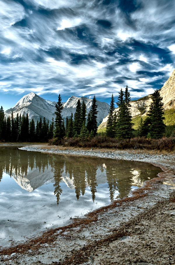 Pond in Rockies | Copyright © 2010 Tom Laube