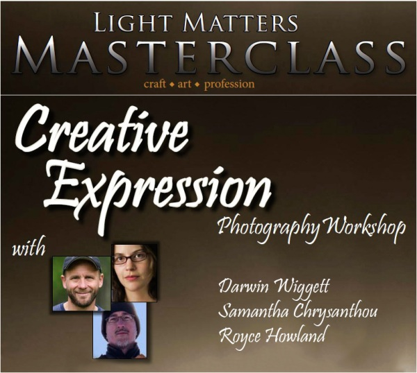 Light Matters Masterclass: Creative Expression
