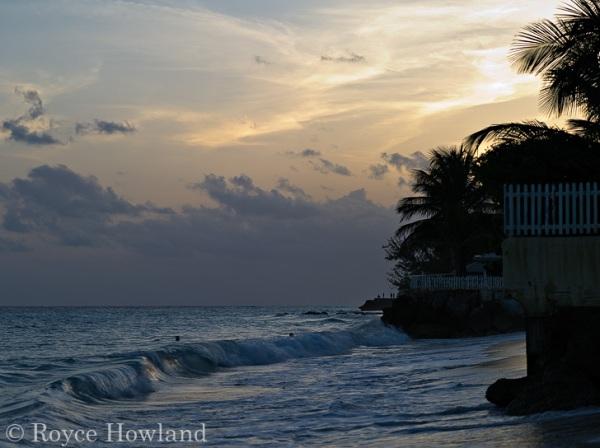 Sunset On the Beach, Oistins