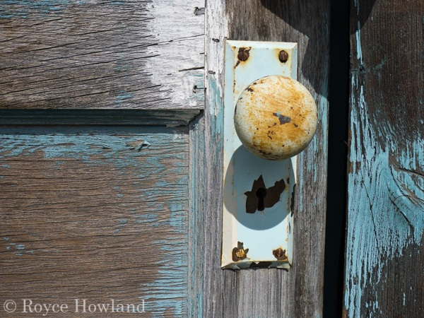Abandoned Door, Nordegg