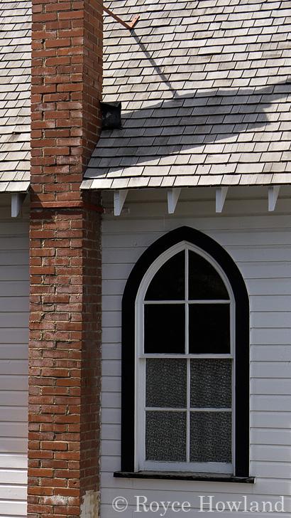 Chimney and Window, Nordegg