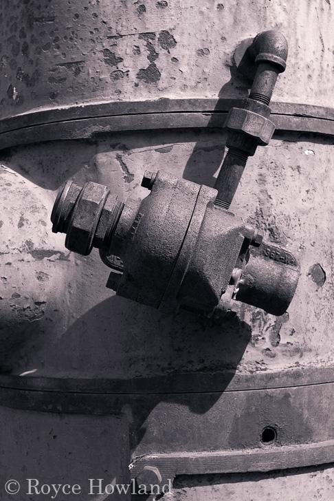 Old Engine Fitting, Nordegg