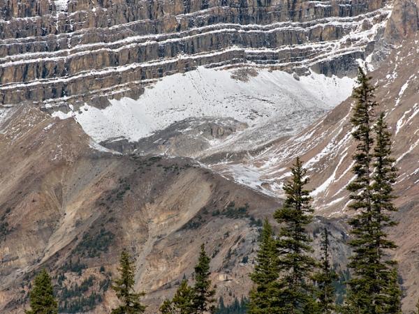 Below Mt Jimmy Simpson