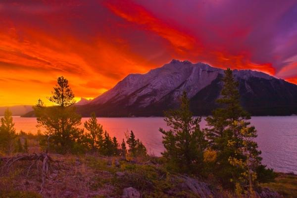 Mt Michener Sunrise Copyright © 2011 Barry Ryziuk