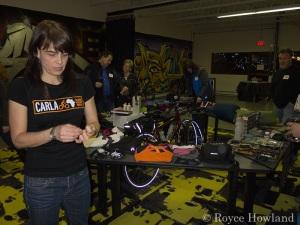 Carla White's Bike Gear