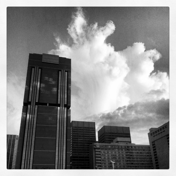 Summer Storm Downtown Copyright © 2012 Royce Howland