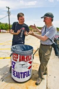Pete & Royce Keeping America Beautiful / Copyright © 2012 Ken Ross