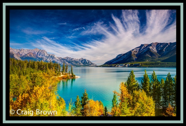 Clouds Over Abraham, Abraham Lake area. Copyright © 2012 Craig Brown.