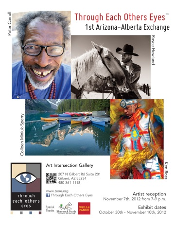 Arizona / Alberta TEOE Photography Exchange 2012 Exhibit
