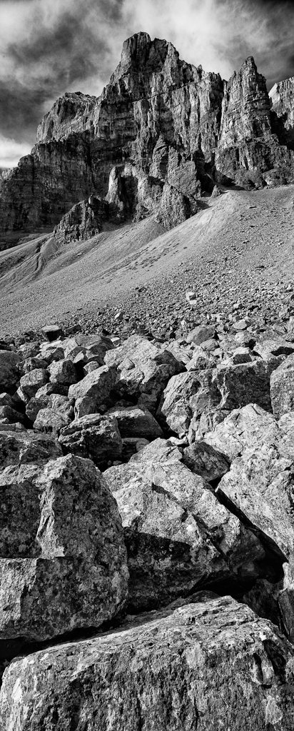 Rock Pile at Consolation Lakes, Copyright © 2012 Garrett Atkins