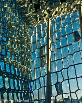 Golden Light On the Matrix, Reykjavik