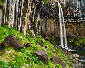 Fallen Rock and Falling Water, Skaftafell National Park