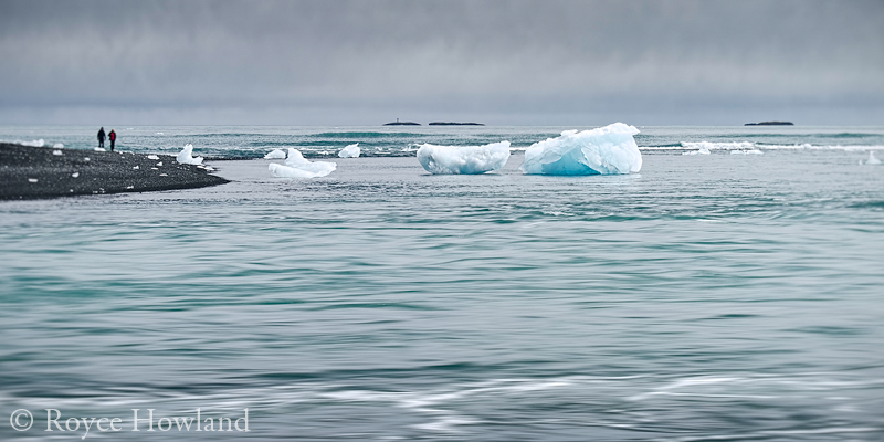 Strolling Among the Mini-Bergs, Jokulsarlon