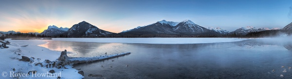 Dawn Sneaks Up On Mist, Banff