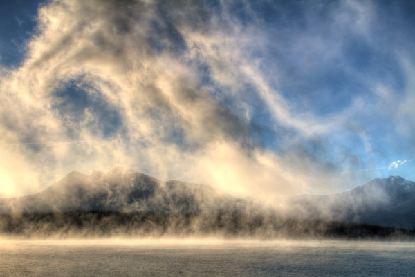 Foggy Morning. Copyright © 2013 Valentina Tkachuk.