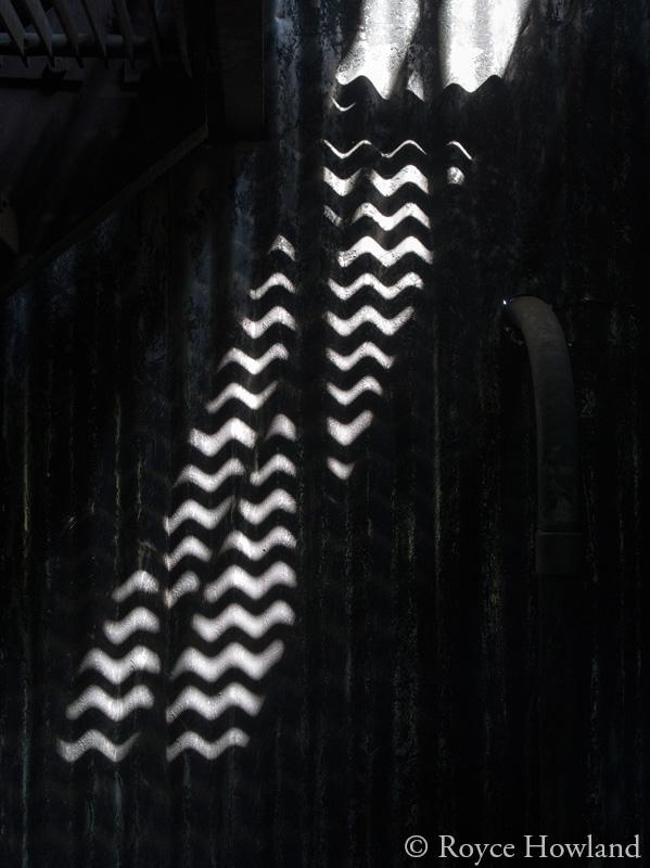 Breath of Dust, Memory of Waves, Brazeau Collieries. The darkest single original frame.