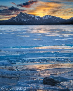 Blue Light Special, Abraham Lake