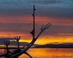 Sun Voyager at Midnight, Reykjavik