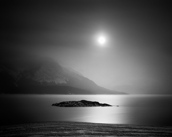 Abraham Lake Reflection. Copyright © Olivier Du Tré.