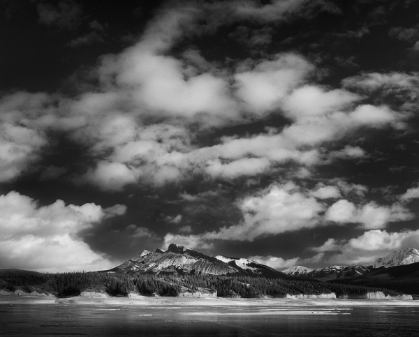 Clouds Over Kista Peak. Copyright © Olivier Du Tré.