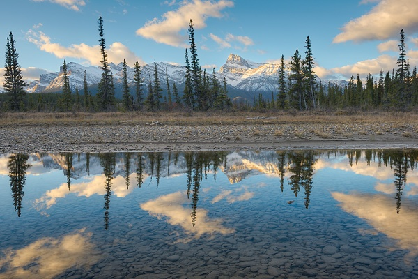 Kootenay Plains Reflecting Pools. Copyright © Kerry Leibowitz.